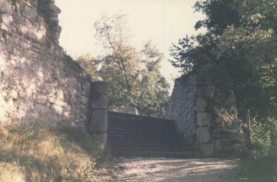 Vhod na grajsko dvorišče