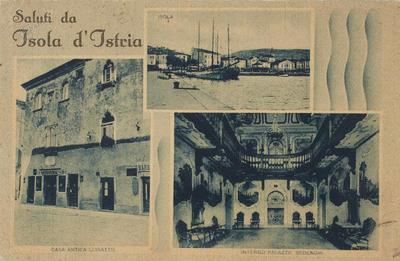 Saluti da Isola d'Istria