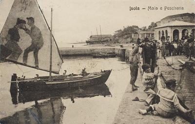 Isola, molo e pescheria