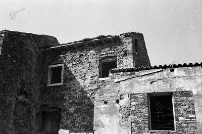 Piran, hiše pod Adamičevo ulico