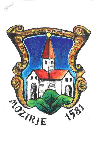 Grb Mozirja iz leta 1581
