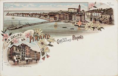 Un saluto da Pirano / Gruss aus Pirano