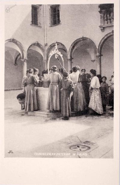 Franciscanerklosterhof in Pirano