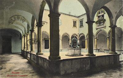 Pirano, chiostro S. Francesco