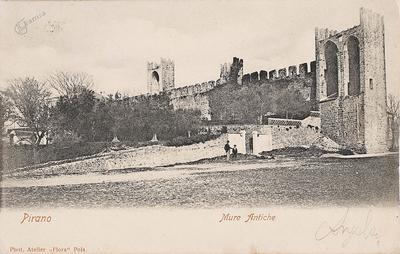 Pirano, mure antiche