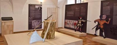Motiv z razstave Nad Gorico po pravico