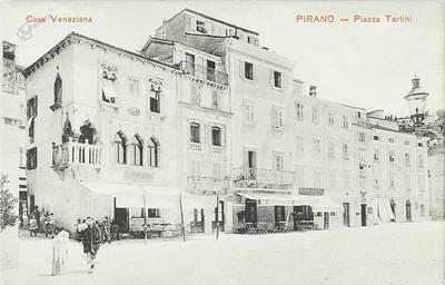 Pirano-Piazza Tartini, Casa Veneziana
