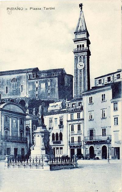 Pirano-Piazza Tartini