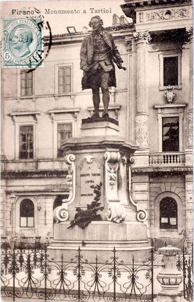 Pirano-monumento a Tartini