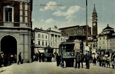 Pirano. Piazza Tartini