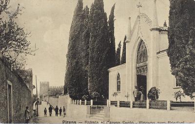 Pirano-Entrata al campo santo / Eingang zum Friedhof