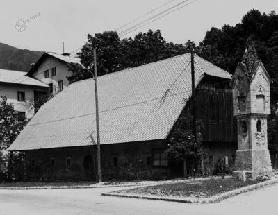 Štefančeva hiša s Francoskim znamenjem 1967