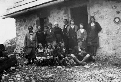 Na Belski planini okrog 1935