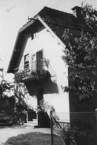 Bizjakova hiša 1960