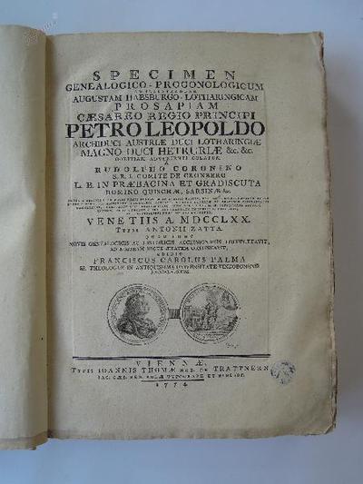 Specimen genealogico-progonologicum