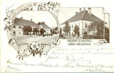 Pozdrav iz Logateca - Gruss aus Loitsch