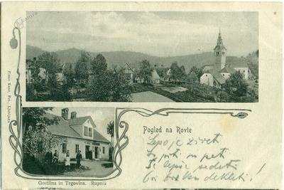 Pogled na Rovte