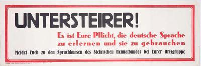Nemški razglas o obveznem učenju in uporabi nemškega jezika