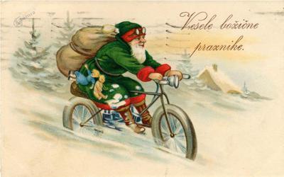 Božiček na kolesu