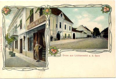 Gruss aus Lichtenwald a. d. Save