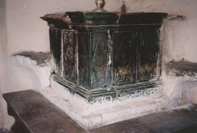 Mlinarjeva izba s krušno pečjo v Jarčevem mlinu