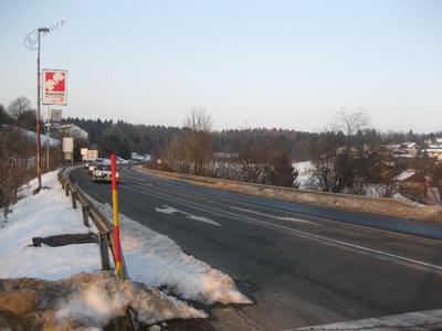Levičnikova cesta v Novem mestu