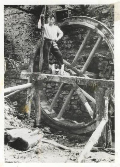 Anton Bebar ob mlinu