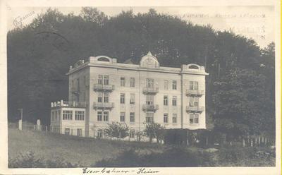 Železničarski dom leta 1924