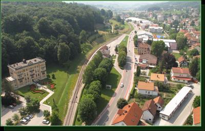 Občinska stavba Rogaška Slatina danes