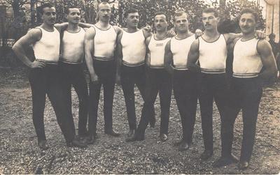 Moška sekcija litijskih Sokolov