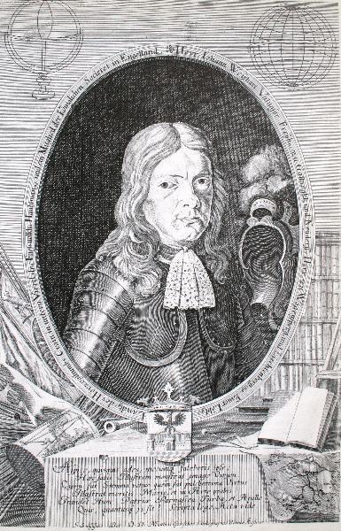 Portret Janeza Vajkarda Valvasorja