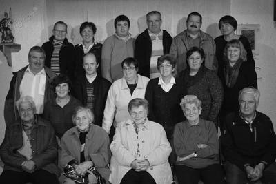 Udeleženci študijskega krožka v Javorniškem Rovtu
