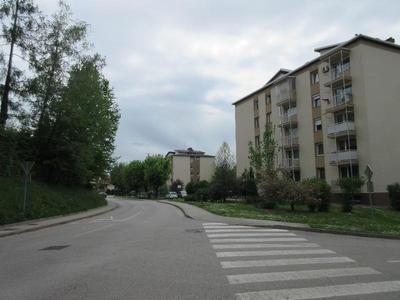 Smrečnikova ulica v Novem mestu