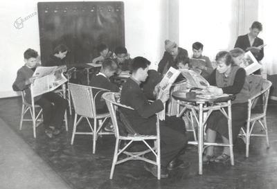 Mestna knjižnica in čitalnica Ptuj, ok. 1960