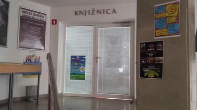Vhod v knjižnico Šmarje pri Jelšah