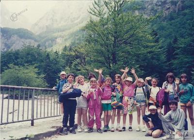 I. osnovna šola Celje,šolski izlet 3. c, 15. 6. 1991