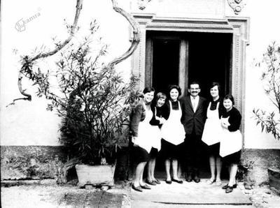 Borl- hotelsko osebje ok.1960