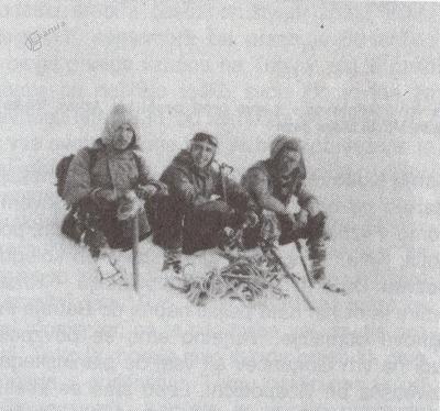 Vzpon na Grintovec, 1941