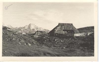 Razglednica Velike planine, 1939