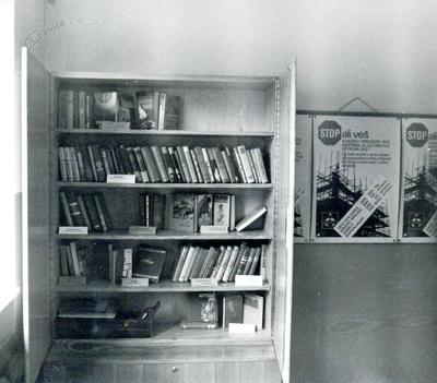 Eno od izposojevališč vzajemne knjižnice