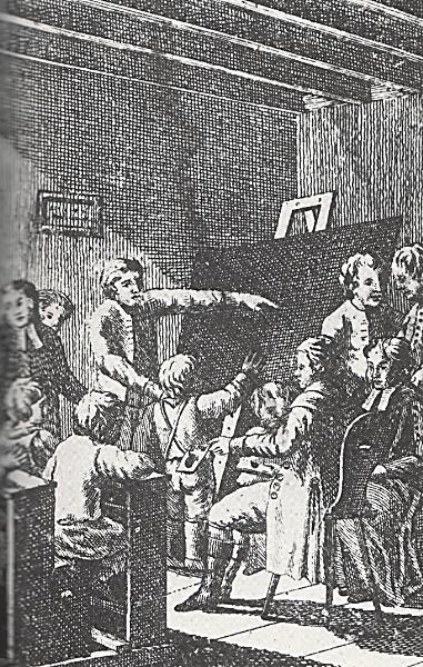 Šolski nadzor podeželske šole, 19. st.
