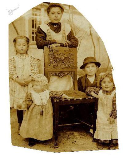 Otroci družine Trebec