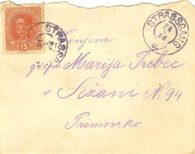 Pismo, 24. 4. 1918