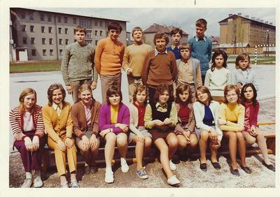 I. osnovna šola Celje, skupinska fotografija, 7. c 1972