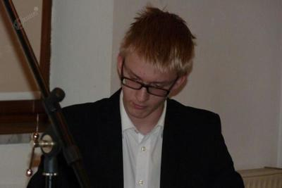 Pianist Blaž Pavlakovič