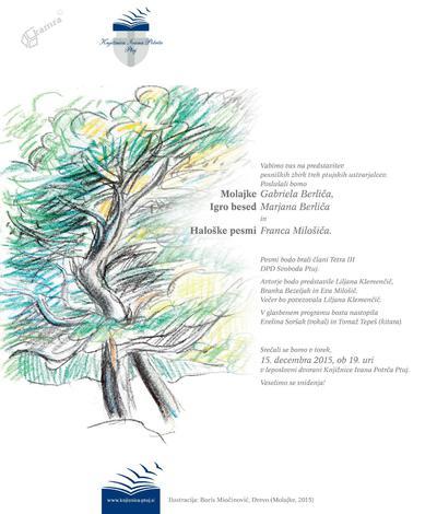 Literarni večer treh ptujskih ustvarjalcev