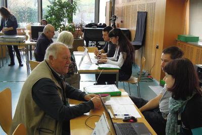 Drugi dan zbiranja spominov v Goriški knjižnici