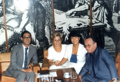 Obisk poslovnih partnerjev z Japonske