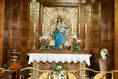 Notranjost krstilnice