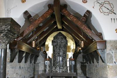 Notranjost kapele Božjega groba